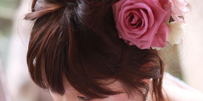 結婚式にしていきたいヘアスタイル