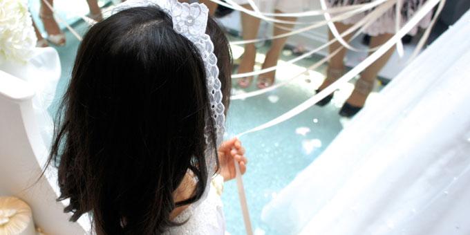 結婚式・披露宴の服装ガイド~子供~
