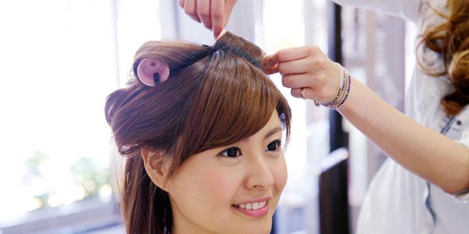 結婚式髪型マナー